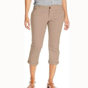 Lee Mid-rise Essential Chino Crop Pants
